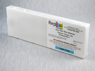Repleo Recycled 220 ml Cartridge for the Epson Pro 4800 filled with Cave Paint Elite Enhanced pigment ink - Light Cyan