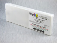 Repleo Recycled 220 ml Cartridge for the Epson Pro 4880 filled with Cave Paint Elite Enhanced pigment ink - Light Black