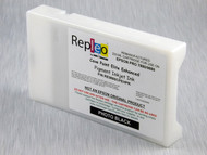 Repleo Recycled 220 ml Cartridge for the Epson Pro 7880/9880 filled with Cave Paint Elite Enhanced pigment ink - Photo Black