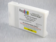 Repleo Recycled 220 ml Cartridge for the Epson Pro 7880/9880 filled with Cave Paint Elite Enhanced pigment ink - Yellow