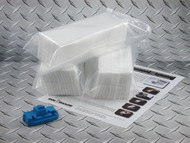 Maintenance tank recycle starter kit for Epson Pro 4000, 4800, 4880, 7600, 7800, 7880, 9600, 9800, 9880, and 10000 including chip resetter and three sets of absorbent wadding