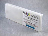 Repleo Recycled 220 ml Cartridge for the Epson Pro 4000/7600/9600 filled with Cave Paint Elite pigment ink - Cyan