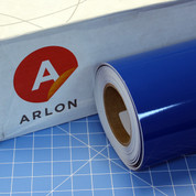 Arlon Blue Sign Vinyl
