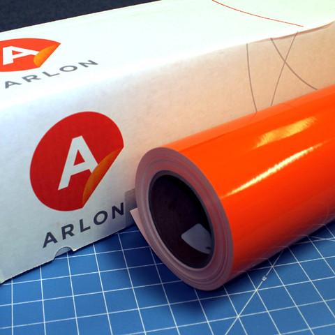 Orange Arlon Sign Vinyl