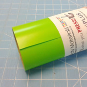 """Apple Green Thermoflex 15"""" Roll (Click for Lengths)"""
