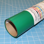 """Kelly Green Thermoflex 15"""" Roll (Click for Lengths)"""