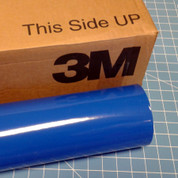"Azure Blue 24"" Roll of 3M ScotchCal Series 50 Sign Vinyl"