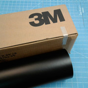 "Black Matte 24"" Roll of 3M ScotchCal Series 50 Sign Vinyl"