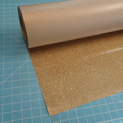 "Old Gold Siser Glitter 20"" Roll (Click for Lengths)"