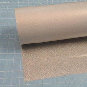 "Silver Confetti Siser Glitter 20"" Roll (Click for Lengths)"
