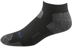 Bates Footwear Low Cut Tactical Uniform Black 1 Pk Socks Made in the USA