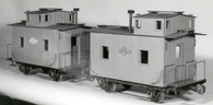 Bobber Caboose End Cupola Body (Assembled)