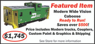 Featured Item: Modern Wide Vision Caboose