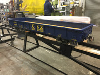 This CSX 5' Low Side Gondola with Modern trucks, couplers & shipping included- Ready to Ship!
