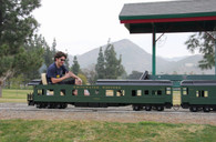 President's Day Special: Observation Car (HW) with Platform Railing, Trucks, Couplers, Seats, Paint & Shipping included