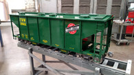 Covered Hopper Body (Assembled) with trucks, couplers & shipping included