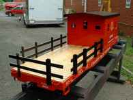 Work Caboose, assembled