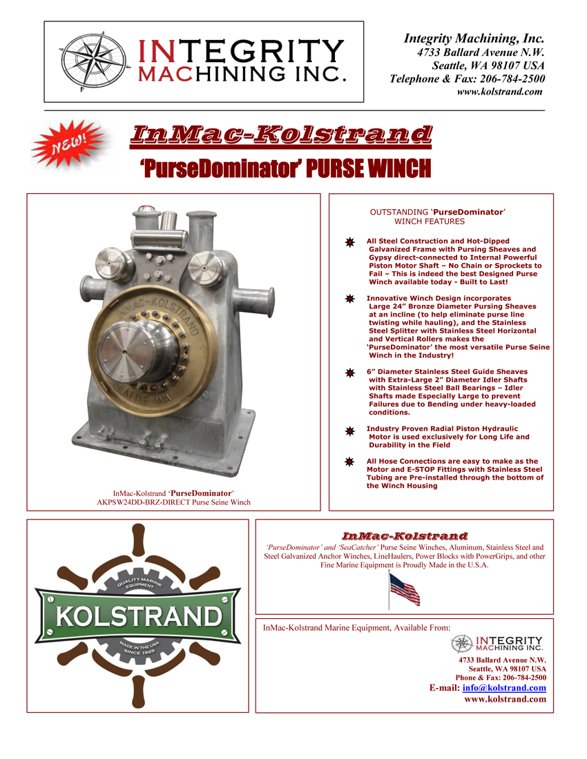 Dominator Winch Wiring Diagram : Kolstrand purse dominator akpsw dd brz direct steel