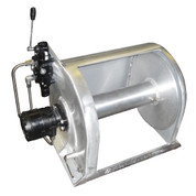Kolstrand 16 Inch Aluminum Anchor Winch - With 16 In Diameter X 16 In Wide Drum  - Model AKPAAW16D16W-375