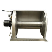 Kolstrand 18 Inch Anchor Winch - With 18 In Diameter X 20 In Wide Drum  - Model AKPAAW18D20W