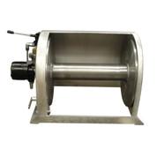 Kolstrand 18 Inch Aluminum Anchor Winch - With 18 In Diameter X 20 In Wide Drum  - Model AKPAAW18D20W