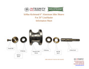 InMac-Kolstrand Aluminum Idler Sheave Assembly for 20 Inch LineHauler