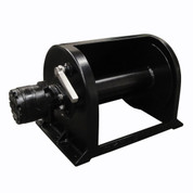 Kolstrand 12 Inch Anchor Winch - With 12 In Diameter X 14 In Wide Drum - Powder Coated - Model AKPAAW12D14WPC