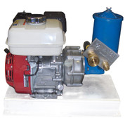 InMac-Kolstrand Honda-VTM Hydraulic Power Unit - 5 H.P. Hydraulic Power Unit (HPU) - * NOW WITH EITHER ALUMINUM OR POWDER-COATED STEEL BASE  *  - * * IN STOCK * *