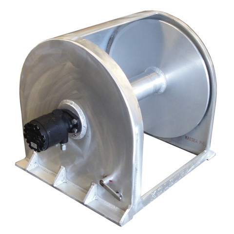 Kolstrand 24 Inch Anchor Winch - With 24 In Diameter X 20 In Wide Drum - Model AKPAAW24D20W