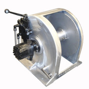 Kolstrand 18 Inch Anchor Winch - With 18 In Diameter X 10 In Wide Drum  - Model AKPAAW18D10W