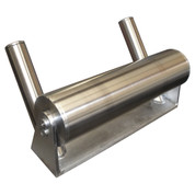 "InMac-Kolstrand 'TITAN 6' ALL STAINLESS STEEL Halibut Side Roller with 26"" Long Horizontal Roller and 12 Inch Vertical Rollers - NOW AVAILABLE WITH EXCLUSIVE KOLSTRAND WRC ROLLER HARDNESS PROCESS AS AN OPTION!"