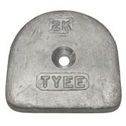 Tyee #2 Lower Valve Weight - 2-K