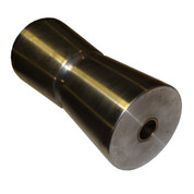 InMac-Kolstrand 4 1/2 Inch Diameter X 9 7/8 Inch Wide Stainless Steel Bow Roller with Shaft Pin