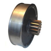 InMac-Kolstrand Brake Drum with Gear for AK Gearbox - PC 35
