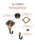 InMac-Kolstrand Bronze Yoke with Cam and Stainless Steel Hook Assembly for Motor Drive Kit