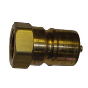 InMac-Kolstrand Brass Quick-Disconnect Coupler-Nose 3/4 Inch NPT
