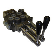 InMac-Kolstrand Compact HydroControl Double Spool Rotary Valve Assembly - D10/2 for 10 GPM Circuits