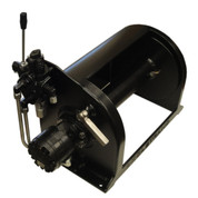 Kolstrand 12 Inch Anchor Winch - With 12 In Diameter X 16 In Wide Drum - Powder Coated - Model AKPAAW12D16WPC