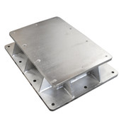 InMac-Kolstrand Stainless Steel Purse Winch Riser Platform and Foundation for 3N Purse Winch