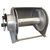Kolstrand 34 Inch Aluminum Anchor Winch - With 34 In Diameter X 36 In Wide Drum  - Model AKPHR34D36W-AL