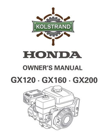honda gx160 shop manual torrent