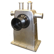 Kolstrand 'CLASSIC-PIONEER' SS6N-S STAINLESS STEEL Purse Seine Winch with 12 Inch Cast Iron Gypsy Heads, Two-motor Parallel Drive Arrangement and with E-STOP Emergency Kill Switch Arrangement.