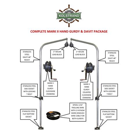 Complete Kolstrand MARK II Hand Trolling 'BASIC PACKAGE'