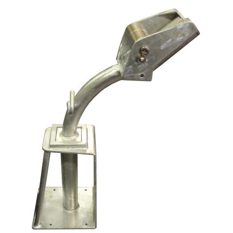 Kolstrand 'CAPTURED-5' Plug-In Style Seine Davit Roller Assembly with Galvanized Davit Socket(Port Side Davit Roller Shown)