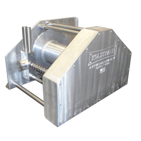 InMac-Kolstrand AKPW14D12W-ULW-2:1-BRAKE-RE14 Special Aluminum Winch with Diamond Screw Level Wind