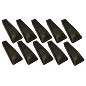 InMac-Kolstrand Rubber Bolt-In Cleat SET OF 10 CLEATS for 26/28 Inch Power Blocks - -* * IN STOCK * *