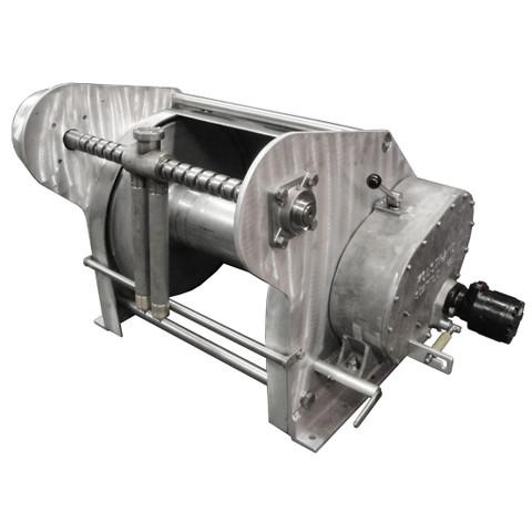 InMac-Kolstrand AKPW24D24W-FLW-AK-RE29 Special Aluminum Winch with FLIP-STYLE Diamond Screw Level Wind