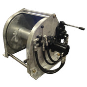 24D18W-D9-55 Direct Drive Steel Galvanized Anchor Winch