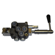 InMac-Kolstrand Compact HydroControl Rotary Valve Assembly - D10 with Motor Spool for 15 GPM Circuits