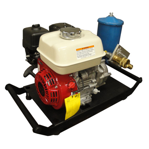 InMac-Kolstrand Honda-VTM Hydraulic Power Unit - 5 H.P. Hydraulic Power Unit (HPU) - WITH STEEL POWDER-COATED EZ CARRY BASE